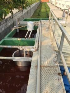 Physio-chemical treatment tanks