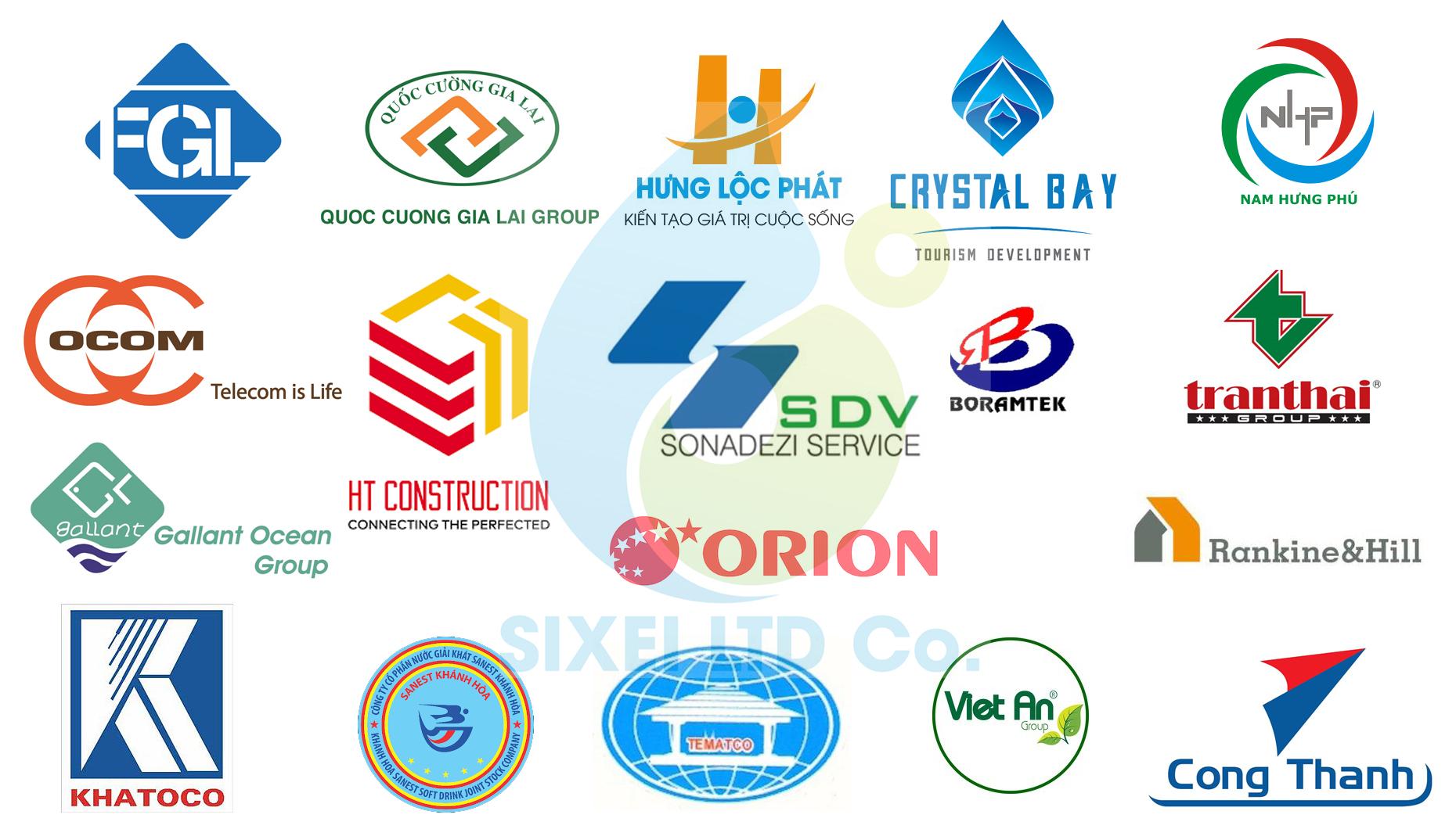 Các khách hàng – đối tác Sixei – đồng hành cùng phát triển